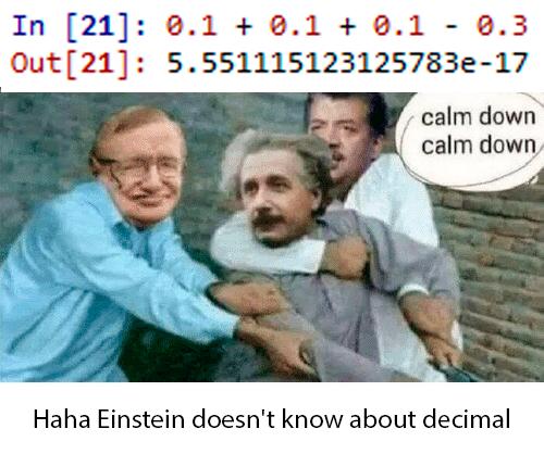 Ограничение точности представления вещественных чисел