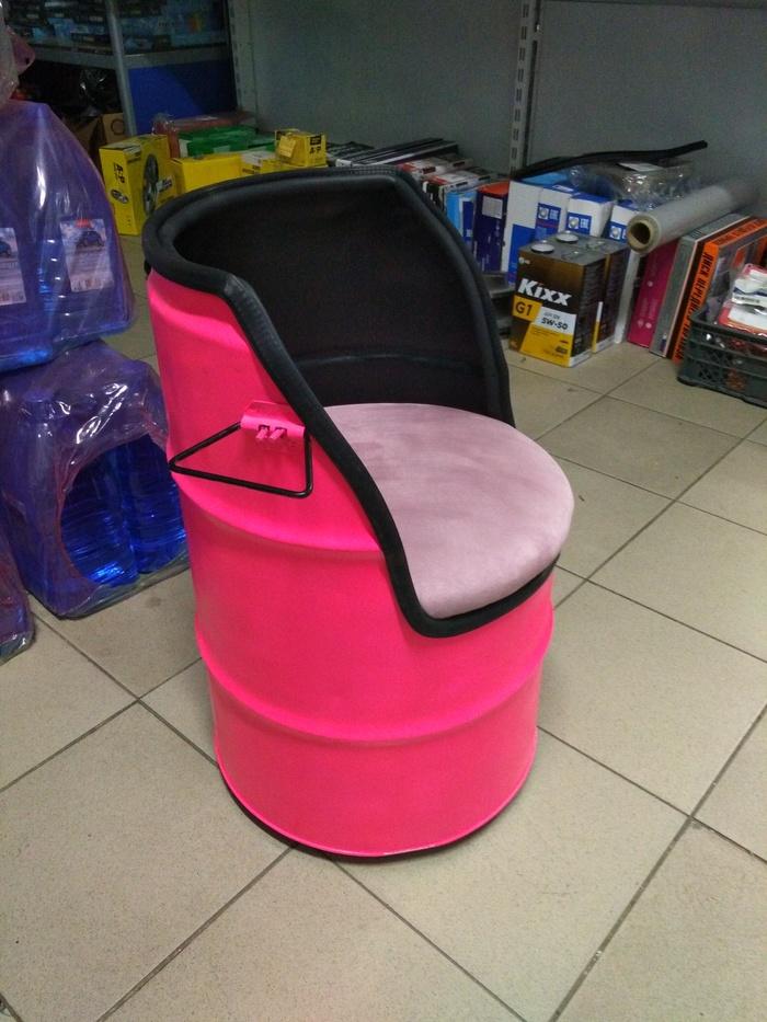 Кресло из бочки своими руками Ручная работа, Детское кресло, Длиннопост, Своими руками, Мебель своими руками, Рукоделие