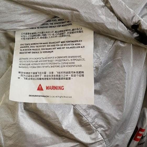 Куртка для марсиан. Инструкция, Владивосток, Куртка, Китай