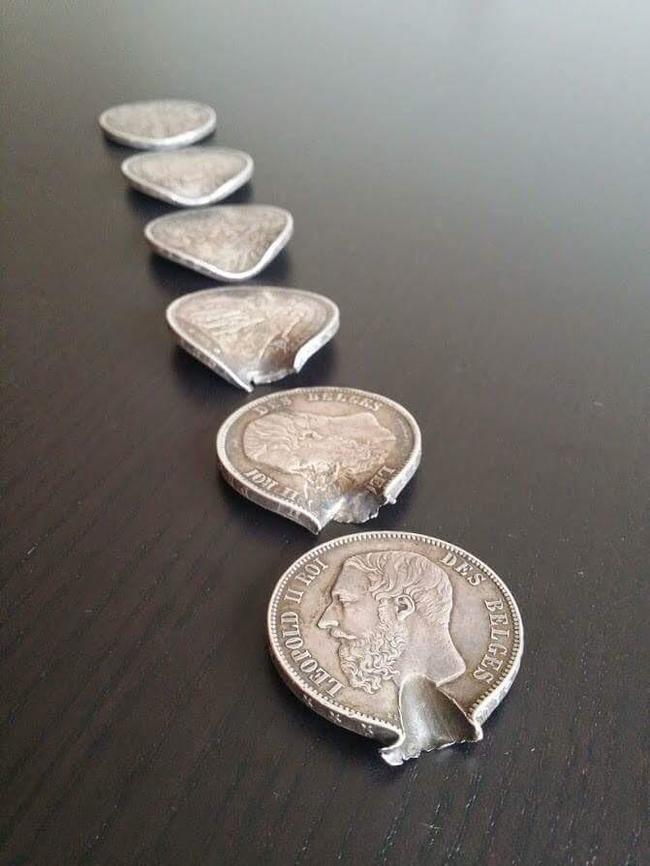Эти монеты спасли солдата от пули в Первой мировой войне