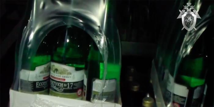 В России обнаружили поддельную минералку «Ессентуки 17». Минеральная вода, Ессентуки, Подделка, Ставрополь, Видео