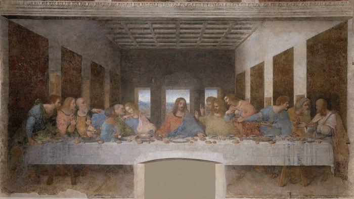 Тайная вечеря, Лео и бабло Леонардо да Винчи, Тайная вечеря, Длиннопост