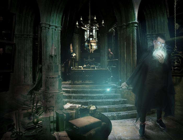 Маг Графика, Photoshop, Коллаж, Маг, Волшебник, Магия, Волшебство