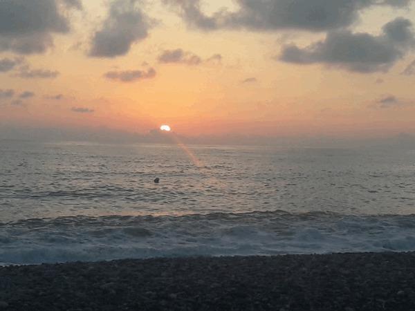 Вот просто море и закат. Море, Закат, Релакс, Гифка, Снято на