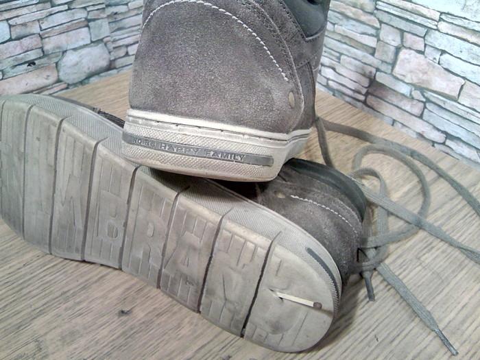 Просевшая решётка и набойка. Ремонт обуви, Решетка, Набойки, Кроссовки, Моя интересная работа, Фотография, Длиннопост