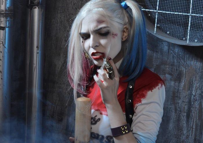 Harley Quinn by RainbowBerry Косплей, DC Comics, Batman, Харли Квинн, Длиннопост