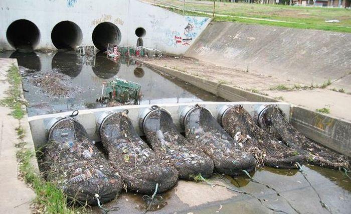 Эти сетки в Австралии предотвращают загрязнение водных объектов Австралия, Ливневая канализация, Мусор, Длиннопост, Сеть