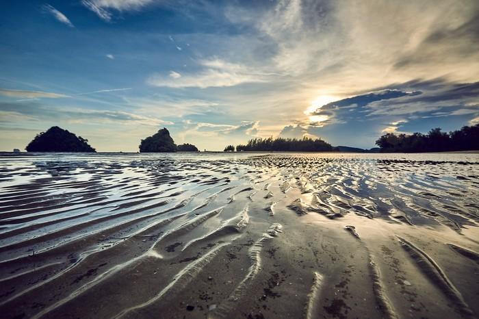 Немного тёплых Тайских фото Краби, Фотография, Закат, Море