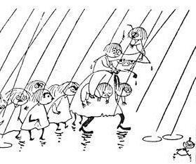 Про воспитание. Туве Янссон, Мумми тролль, Опасное Лето, Книги, Цитаты, Дети, Иллюстрации