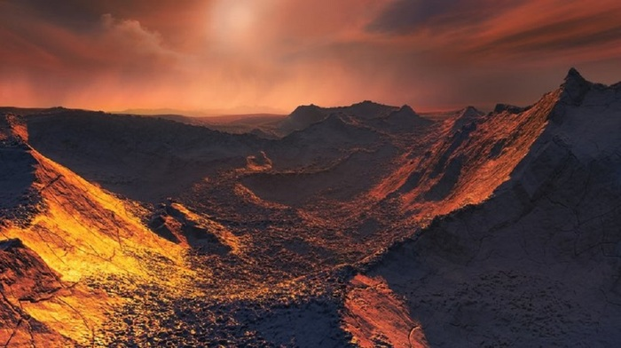 Открыта суперземля всего в шести световых годах от Земли Космос, Планета, Открытие, Галактика, Вселенная