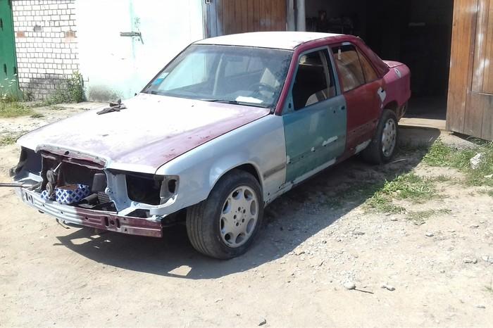 Птичку жалко Авто, Восстановление, Длиннопост, W124, Мерседес, Беларусь