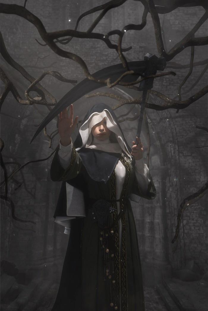 Sister Friede by Supervisor Косплей, Dark Souls 3, Sister Friede, Длиннопост
