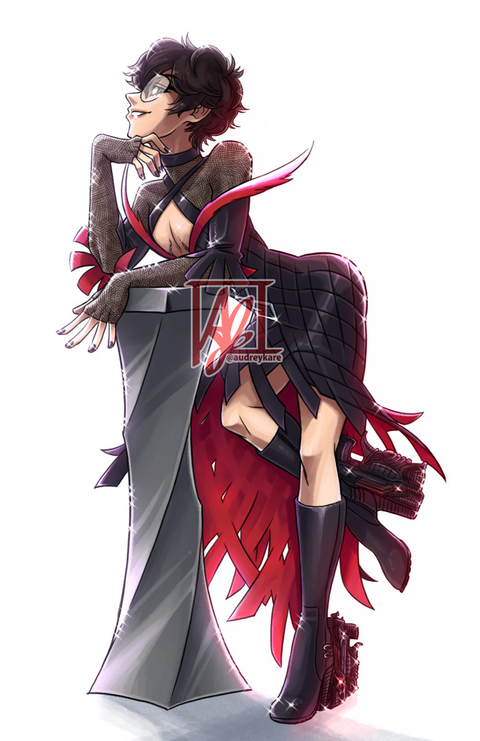 Ren Amamiya Audreykare, Its a trap!, Persona 5, Persona, Ren amamiya, Kurusu akira, Аниме
