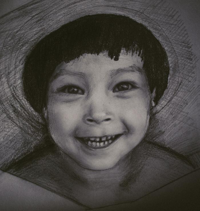 Братишка Рисунок, Рисунок карандашом, Пастель, Брат