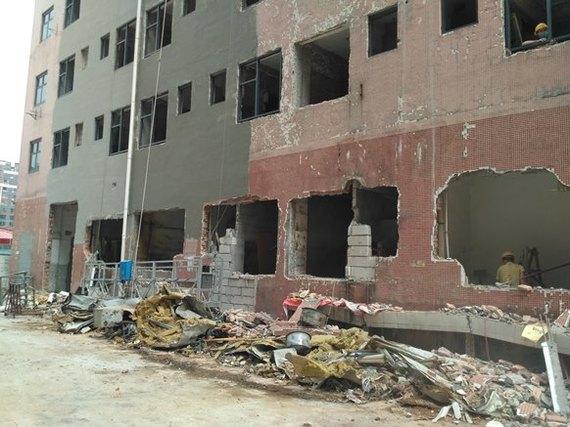 Реновация по-китайски – сломать и быстро возвести всё заново