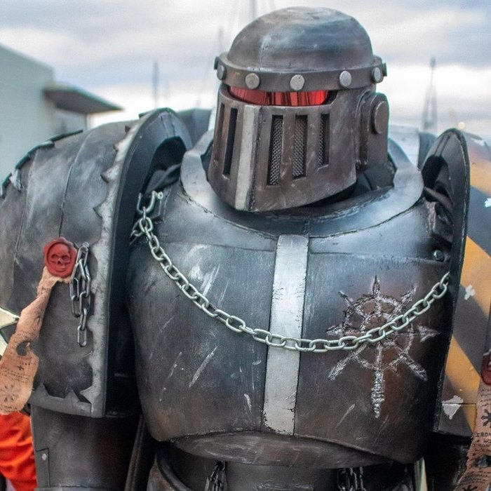 Железо внутри, железо снаружи! Warhammer 40k, Chaos Space marines, Iron Warriors, Косплей, Длиннопост