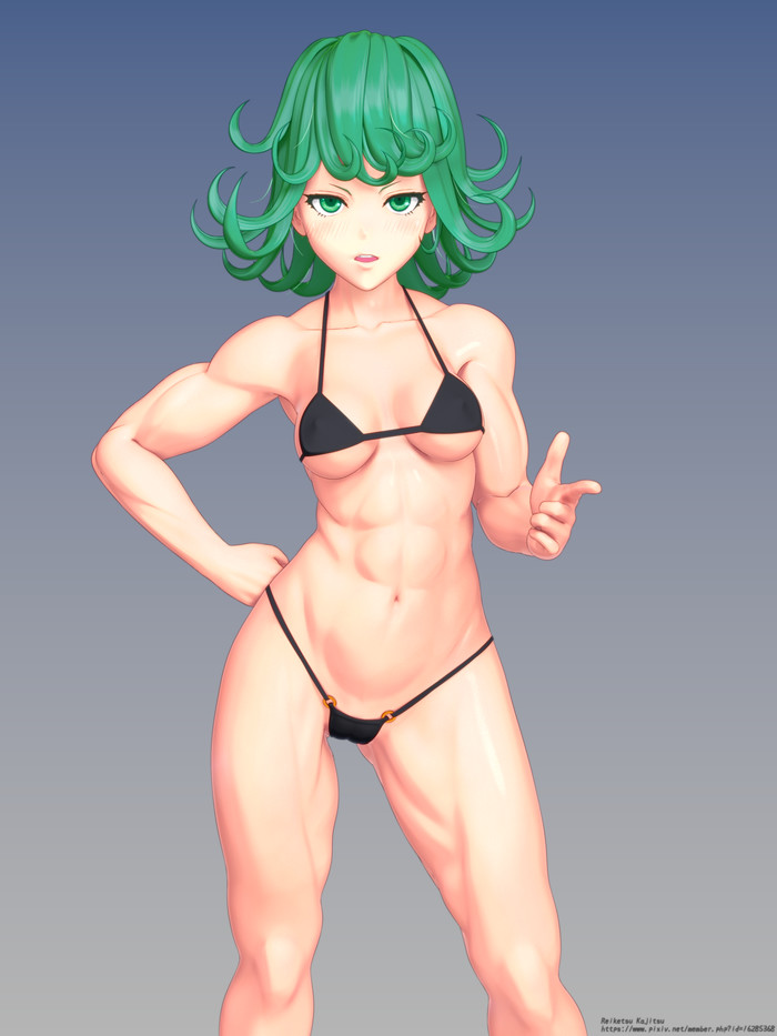 Tatsumaki Арт, Крепкая девушка, Tatsumaki, Onepunchman, Аниме, Anime Art, Фитоняшка, Длиннопост