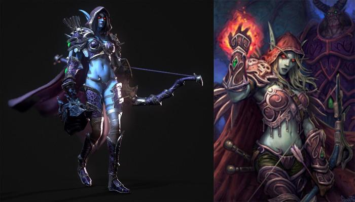 Сильвана,как создавала образ Крафт, Косплей, Blizzard, World of Warcraft, Сильвана Ветрокрылая, Туториал, Длиннопост, Warcraft