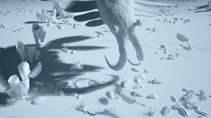Фауна сланцев Бёрджес Zbrush, 3ds max, Фотоманипуляции, Доисторические животные, Кембрий, Копипаста, Длиннопост