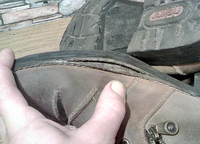 Накладной рант. Когда больше вреда, чем пользы. Ремонт обуви, Рант, Подошва, Прошивка, Моя интересная работа, Фотография, Длиннопост