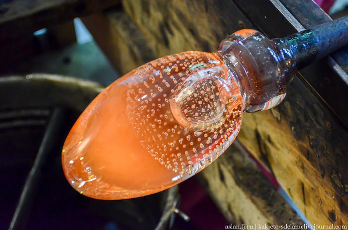 Как делают пузырьки в стекле. Часть 1 Стеклодув, Стекло, Как это сделано, Длиннопост