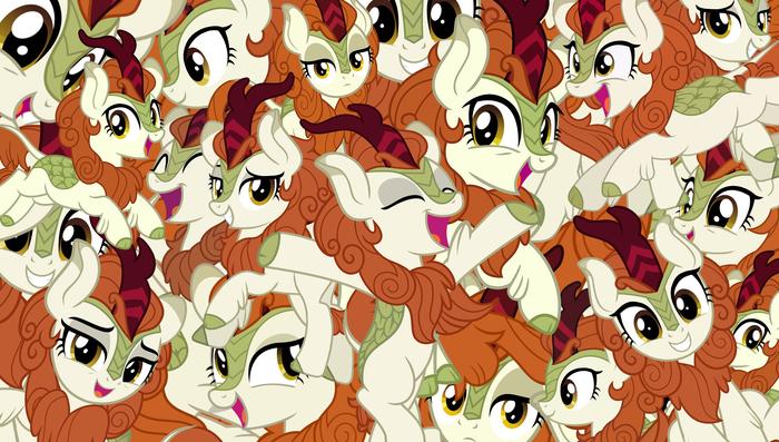 Текстурки подъехали My Little Pony, Autumn Blaze, Кирин, Текстуры