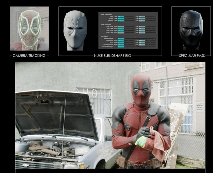 """Как снимался """"Дедпул 2"""" Deadpool 2, Комиксы, Блокбастер, Спецэффекты, CGI VFX, Анимация, Видео, Длиннопост, Съемки"""