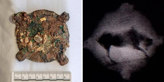 Найдена недостающая детальАнтикитерского механизма Археология, Находка, Антикитерский механизм, Видео, Длиннопост