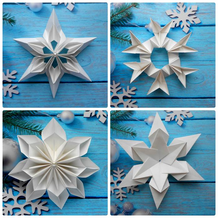 Новогодние снежинки из бумаги. Креативные идеи детских поделок Снежинка, Из бумаги, Новогодние поделки, Дети, Оригами, Видео, Длиннопост