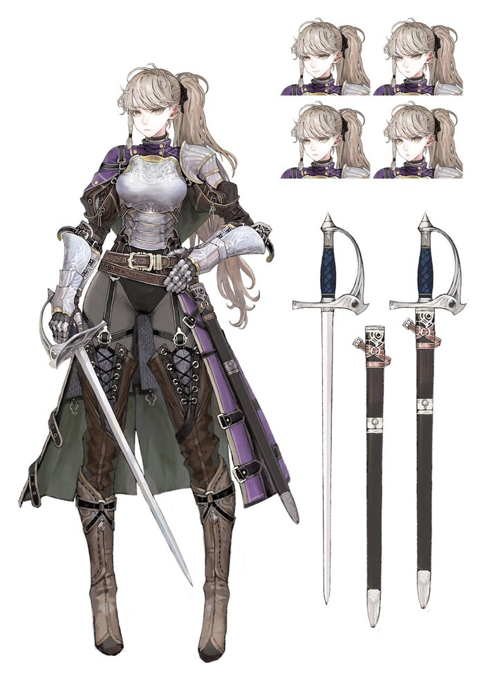 Warriors Anime Art, Аниме, Anime ORiginal, Jun, Длиннопост