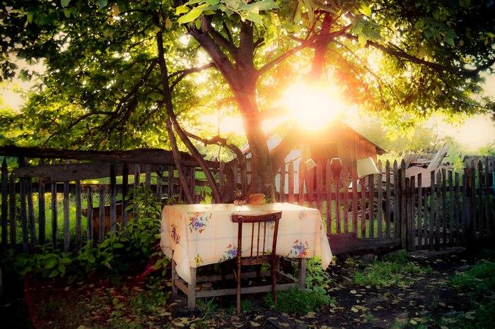Вечер в деревне Фотография, Вечер, Закат, Обработка, Lightroom, Село Россоши