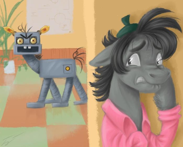 Робо-зайце-понь? My Little Pony, Понификация, Ну погоди!