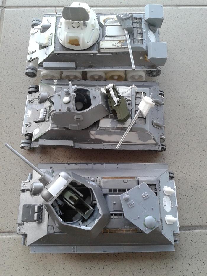 Т-34 из старой коробки. Стендовый моделизм, Советские танки, т-3476, Длиннопост