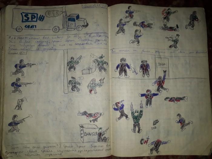 Комикс по Халфе от руки школоты Half-Life, Shepard, Длиннопост, Школота, Ностальгия, Комиксы