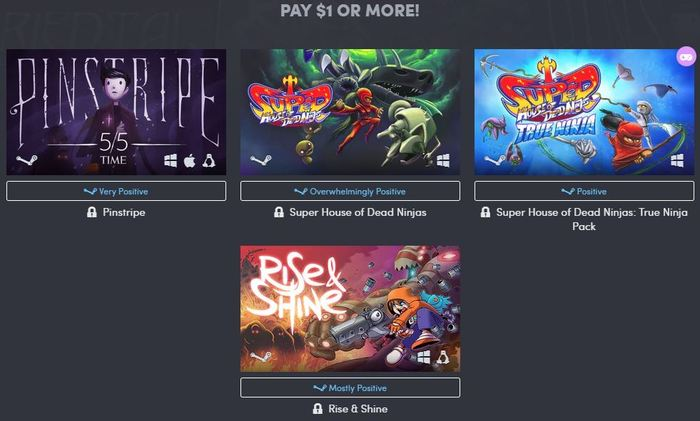 HUMBLE JUMBO BUNDLE 12 Steam, Humble Bundle, Длиннопост