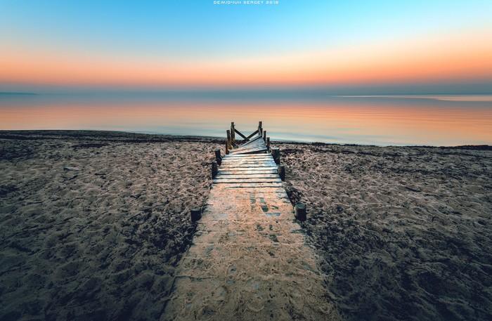 Nikon D610 | 14-24 Фотография, Пейзаж, Песок, Горизонт, Цвет, Nikon, Киевское море