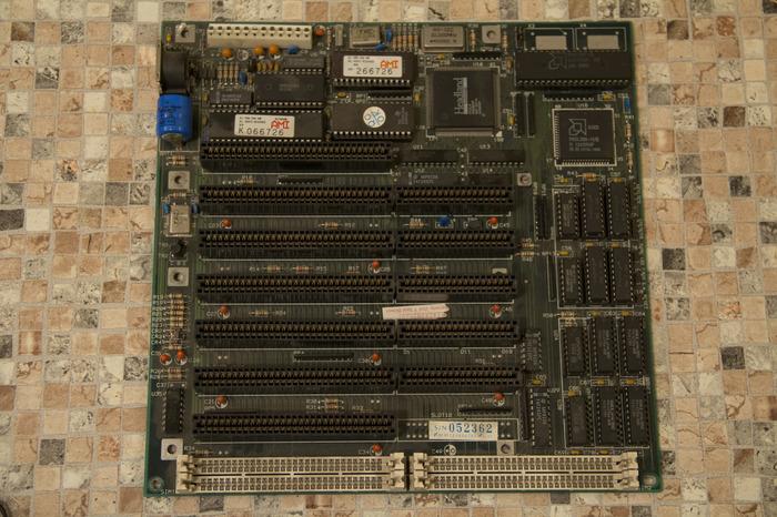 За кадром: проводим ТО 286 материнской плате. 80286, Ретро, IBM PC, Олдскул, Длиннопост