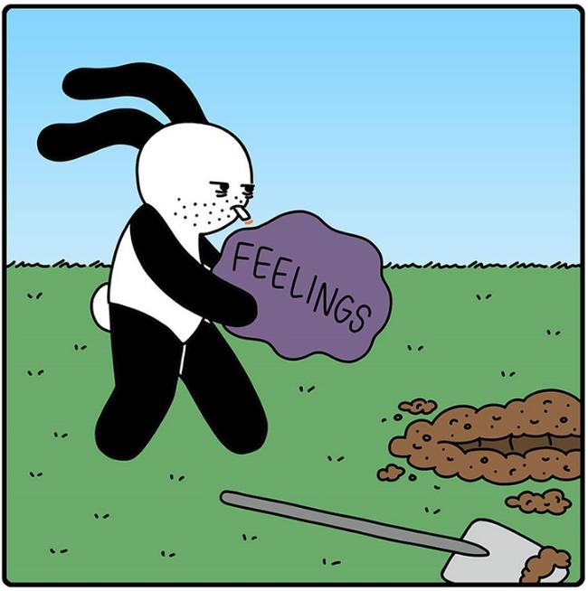 Чувства Комиксы, Pagelow, Чувства, Длиннопост, Buni