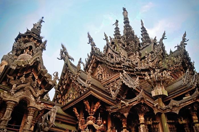 Невероятные архитектурные сооружения (часть 2) Архитектура, Храм, Буддизм, Индуизм, Интересное, Познавательно, Эстетика, Постройки, Длиннопост