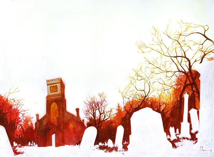 Серия работ N E G A T I V E Арт, Фан-Арт, Рисунок, Графика, Твин Пикс, Восставший из ада, Тарзан, Король Артур, Длиннопост