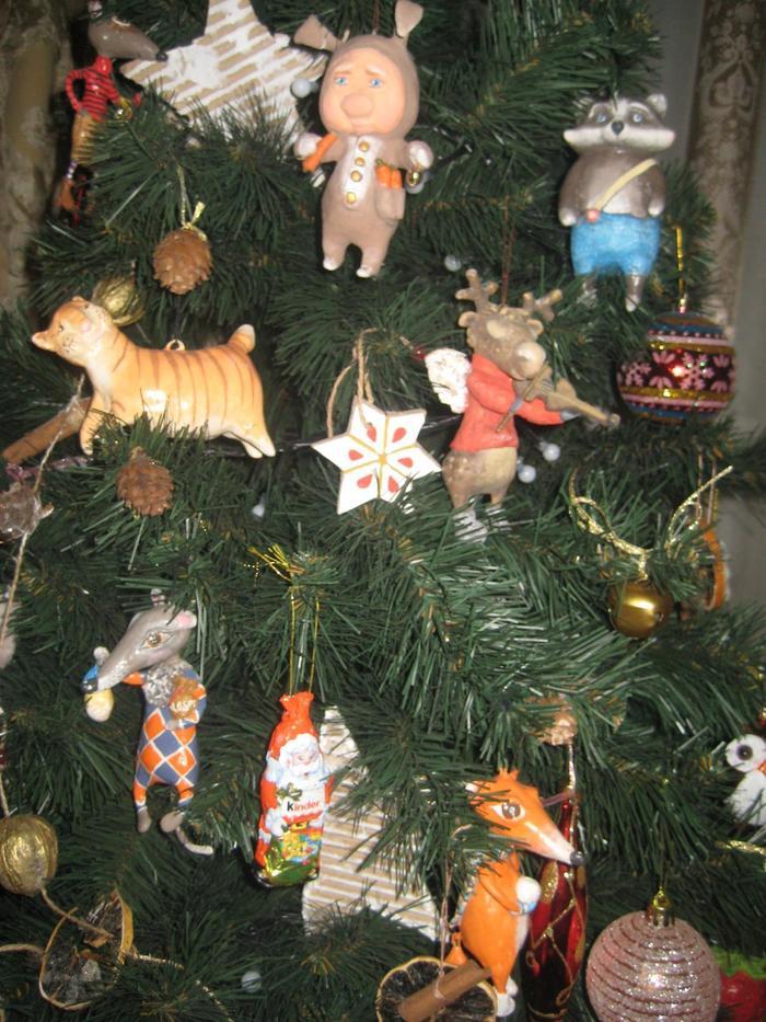 Мои первые ватные ёлочные игрушки Елочные игрушки, Новый Год, Рукоделие без процесса, Своими руками, Handmade, Длиннопост