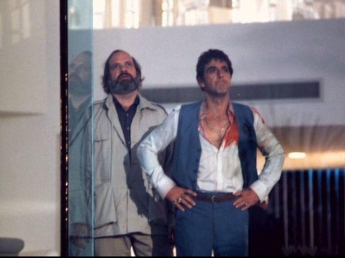 Фотографии со съемок фильмаЛицо со шрамом 1983 год Фотография, Фильмы, Лицо со шрамом, Аль Пачино, Мишель пфайффер, Брайан Де Пальма, Знаменитости, Длиннопост