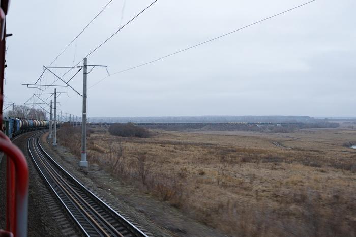 Стовагонник РЖД, Электровоз, Вл80, Железная Дорога