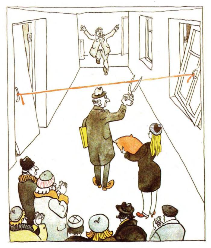 «Люди, что вы делаете?» Карикатура, Гиви Ломидзе, Строительство, Журнал крокодил