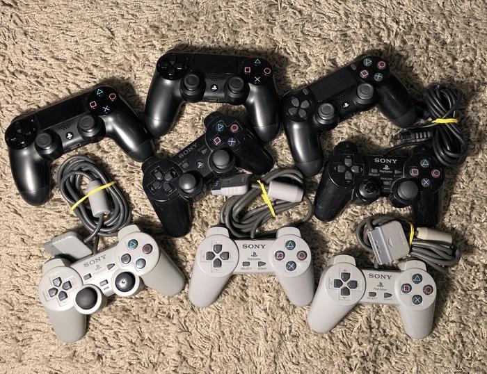 Вся моя сонибоевская коллекция) Собирал больше 20 лет:3 PlayStation 4, Консольщики, Sony, Длиннопост