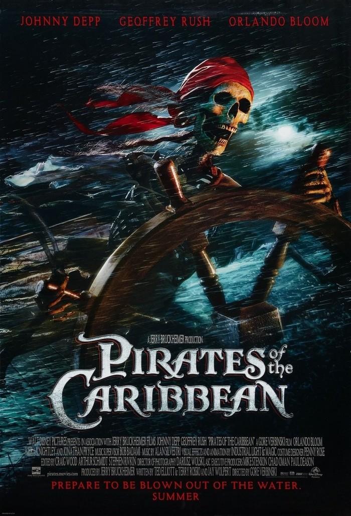 """Как снимали фильм """"Пираты Карибского моря: Проклятие Чёрной жемчужины"""""""