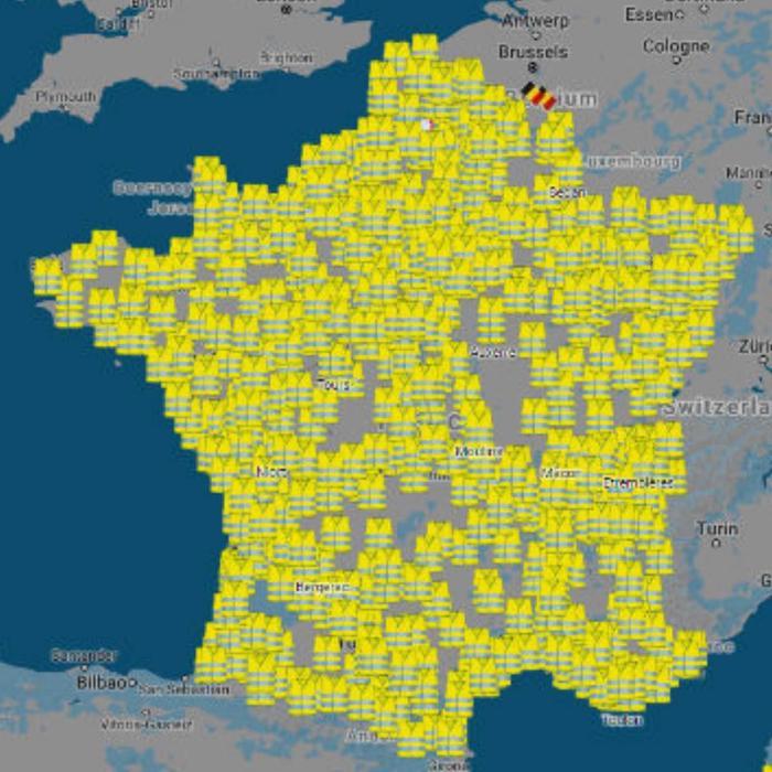 Что такое гражданская позиция Франция, Протест, Бензин