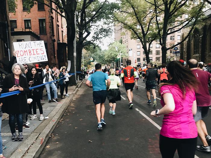 Поддержка Марафон, США, Бег, Плакат, Поддержка, Нью-Йорк