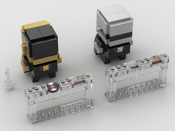 Daft Punk - BrickHeadz Daft punk, LEGO, LEGO brickheadz, Reddit