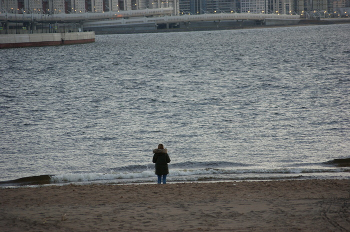 Наблюдатели Море, Зенит-Арена, Парк 300-летия, Санкт-Петербург, Длиннопост